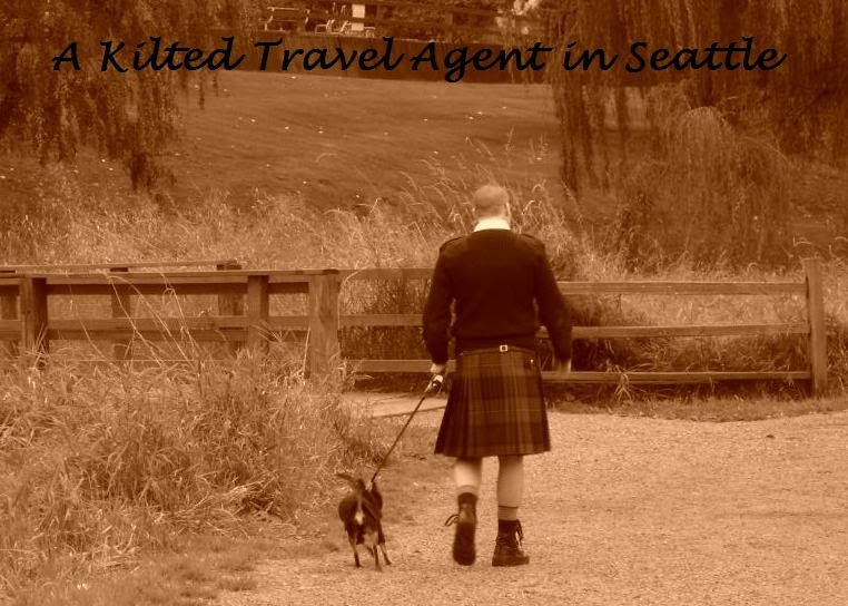 A Kilted Travel Agent In Seattle