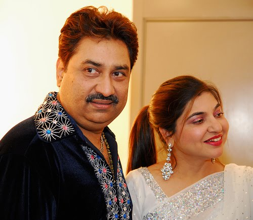 Kumar Sanu with Alka Yagnik