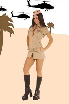 disfraz soldado chica