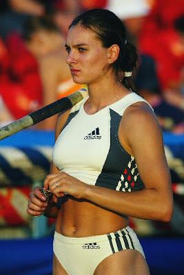 saltadora rusa Yelena Isinbayeva