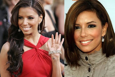 best celebrity hairstyles Eva Longoria short and long hairstyles