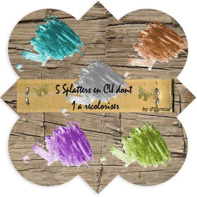 CU de 5 Splatters dont 1 a recoloriser ! (L'Amour du Digiscrap) 5+Splatters+CU