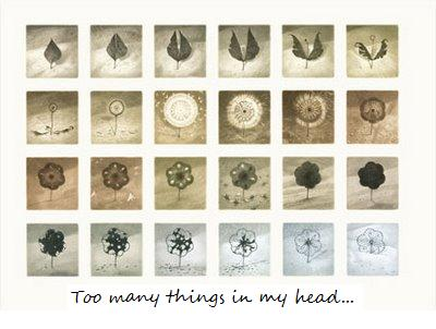 Too many things in my head
