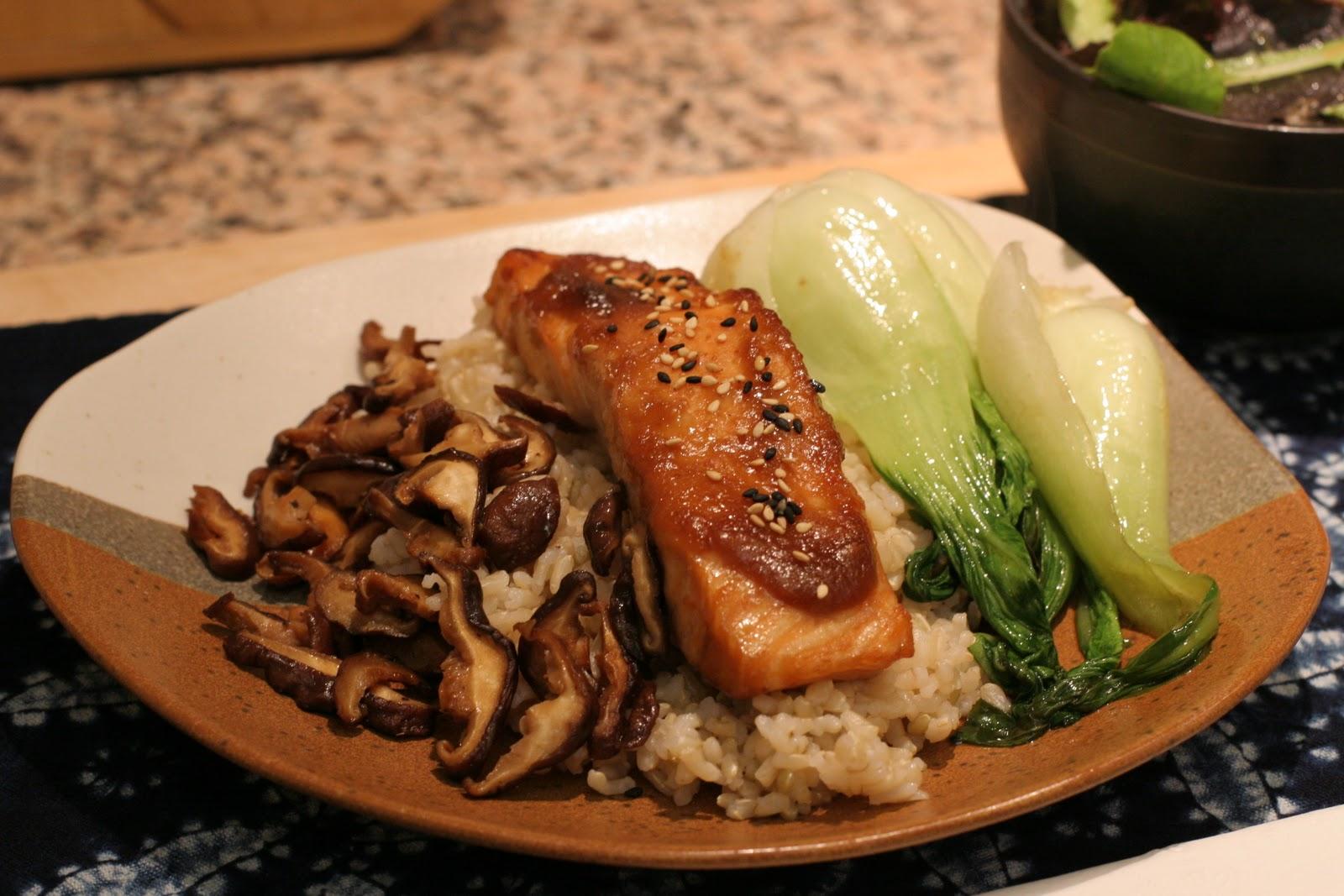 Tuna Toast: Recipe: Miso Glazed Salmon