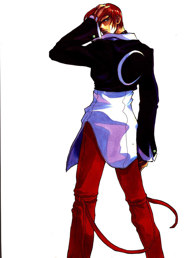 the king of fighters rpg brasil iori yagami