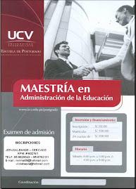 ESTUDIE MAESTRIA EN ADMINISTRACION DE LA EDUCACION EN LA UNIVERSIDAD CESAR VALLEJO FILIAL AREQUIPA