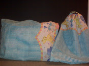 Baby Circus Animals Pillow Case and Matching Drawstring Bag