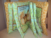 Baby Jungle Cloth Book