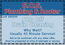 SOS Rooter Service Coupon