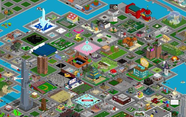 La ciudad pixelada de Goon City
