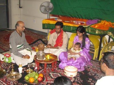 Rhea sony anand my annaprasana choroonu ceremony for Annaprasana decoration
