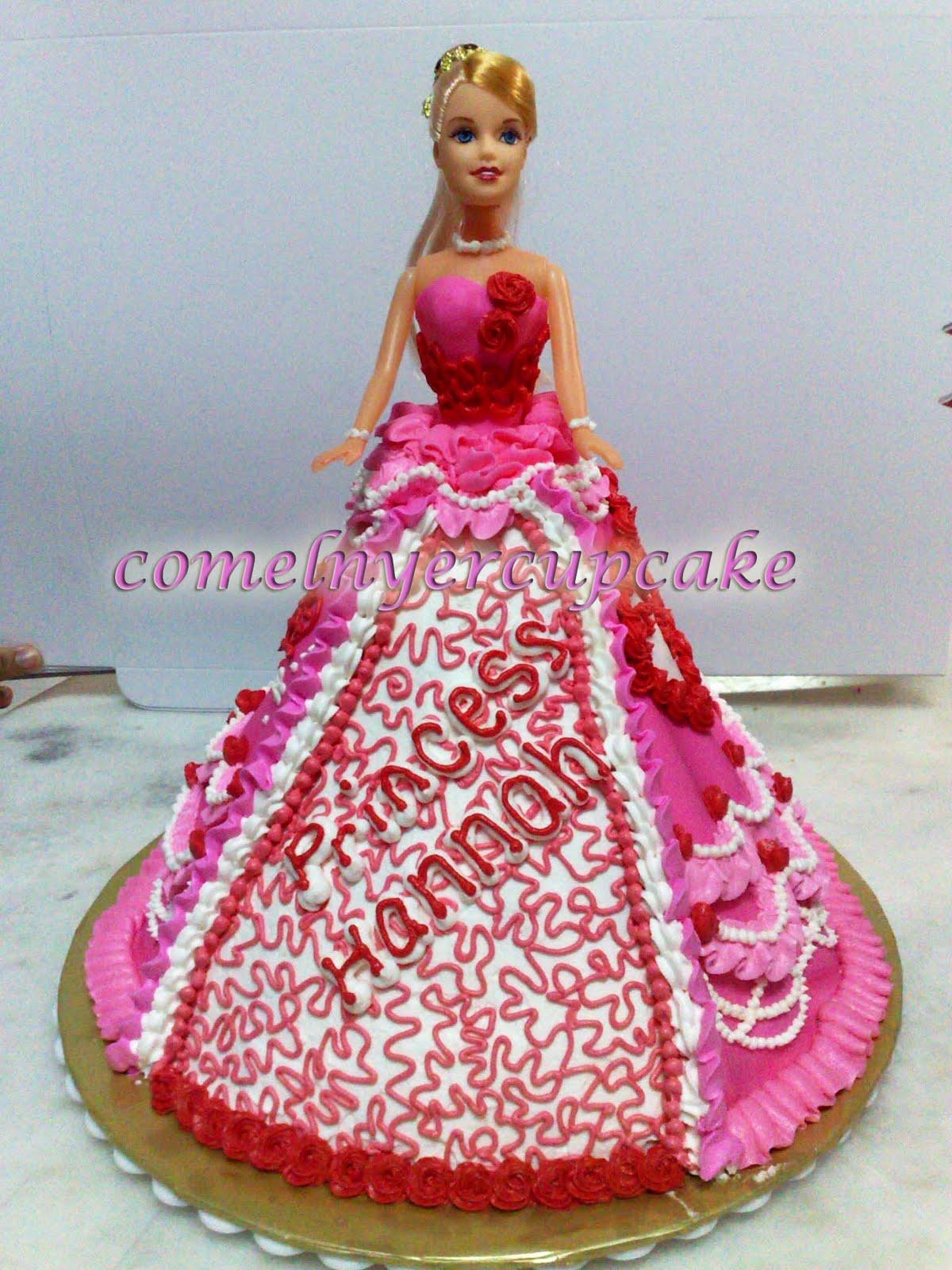 Comelnyercupcake Barbie Doll Cakes Princess Hannah