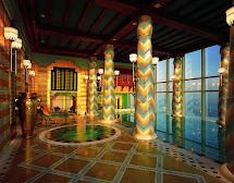 Burj Al Arab Indoor Pool
