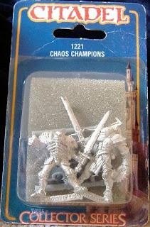 Blister de Chaos Champions de Collector Series de Games Workshop