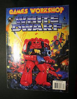 Portada del número 168 de la revista White Dwarf