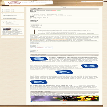 free blogger template converted WordPress Theme to Blogger Wood is Good for template blog