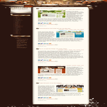 free blogger template convert WordPress to Blogger Brilliance blogger template