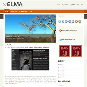 Elma blogger template convert wordpress theme to blogger template with automatic slideshow image