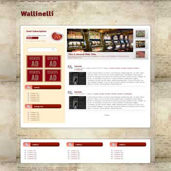 Wallinelli blogger template convert wordpress theme to blogger template with vertical featured content blogger template and 3 column footer template blog