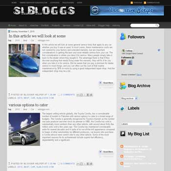 SLBloggs V2 template blog. elegant blog template. 3 column blog template. SLBloggs V2 blogspot template. 3 column blog template blogspot