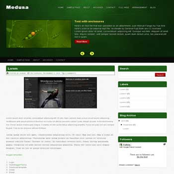 Medusa blogger template convert wordpress theme to blogger template image slideshow blogger template. 4 column footer blogger template. image slideshow blogger template. 4 column footer blogspot template. magazine style blogspot template. blogspot template with image slideshow