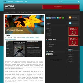 Arena Game blogger template. image slideshow template blog. blogger template from wordpress theme. image slideshow template blog. game blogger template