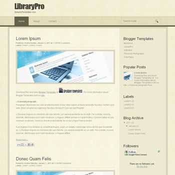 LibraryPro blogger template. blogger template from wordpress theme. wordpress theme to blogger. convert wordpress theme to blogger