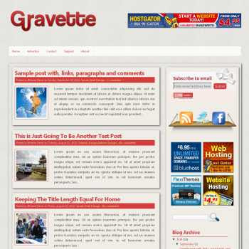 Gravette blogger template. slideshow template blog. pagination for blogger template. magazine style blog template. template image slider blog