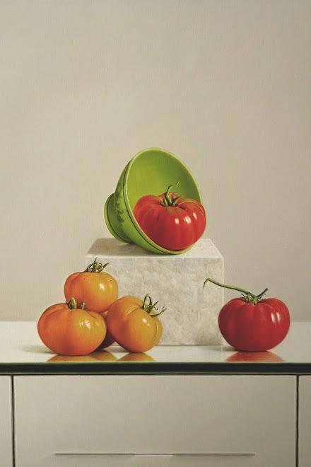 Bodegón con Tomates
