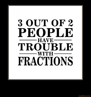 demotivational on math fractions