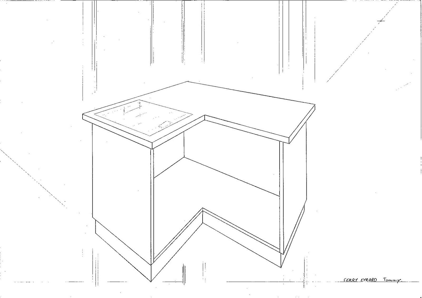 le chantier des apprentis sages croquis dessins et vision dans l 39 espace. Black Bedroom Furniture Sets. Home Design Ideas