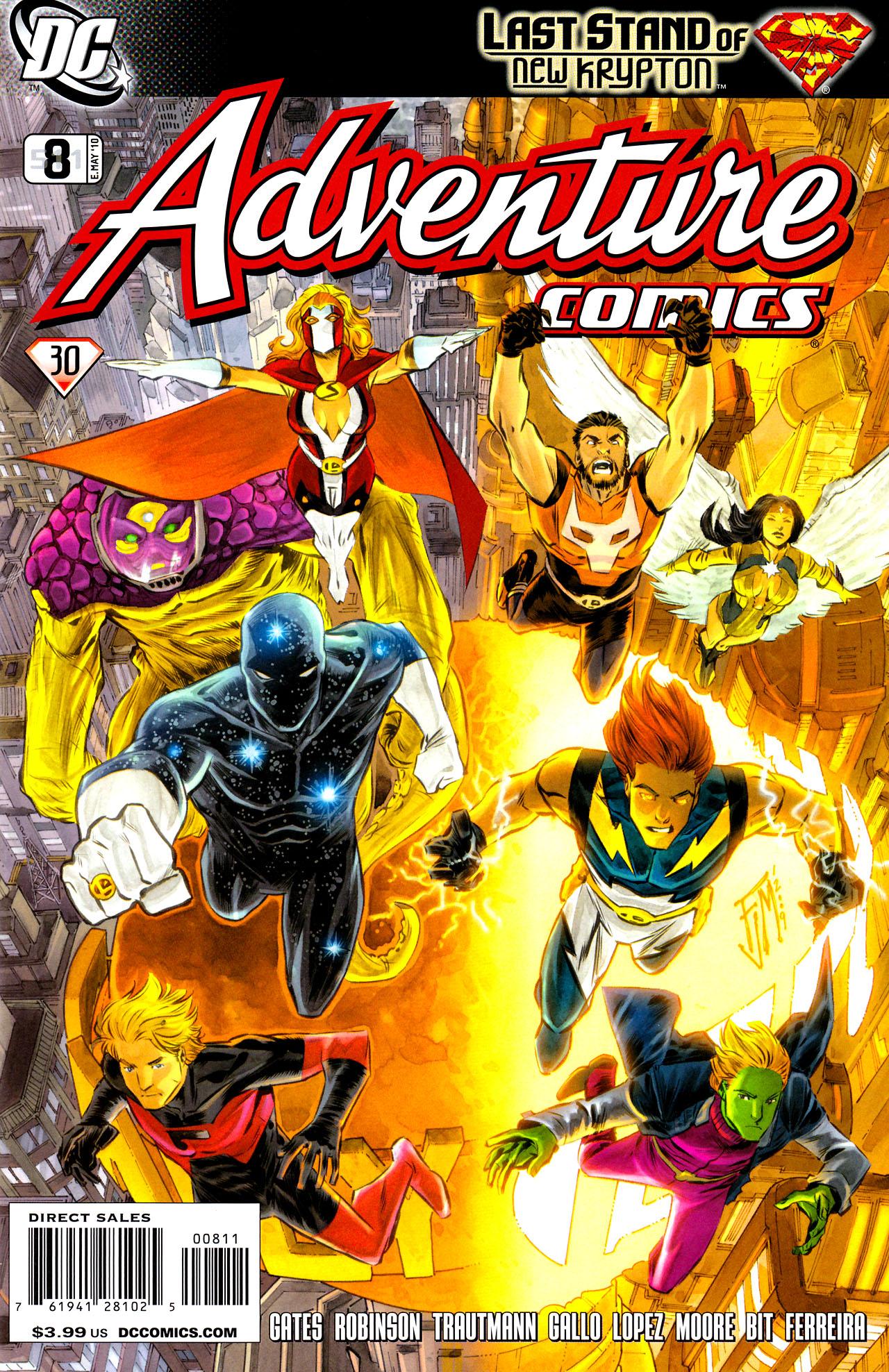 Adventure Comics (2009) 8 Page 1