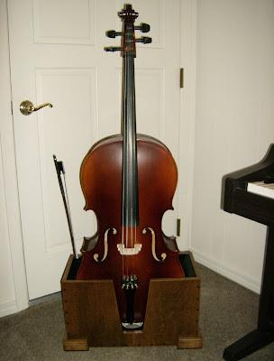 Cello Stand | American Gothic