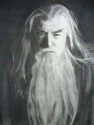 Gandalf el Gris por Andrew Susanto.