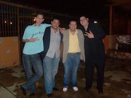Con mis amigos de siempre