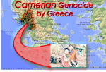 Chamerian Genozid durch Griechenland