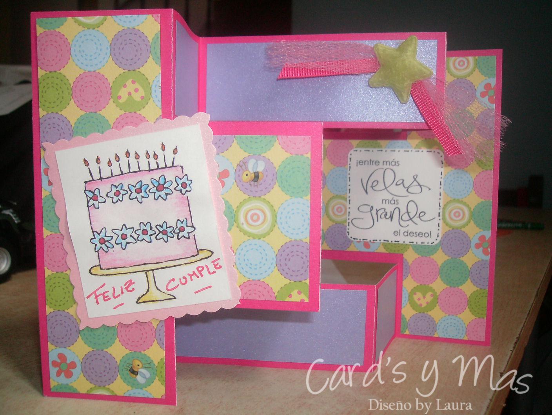 Card 39 s y mas card 39 s de cumplea os - Como hacer un cumpleanos original ...