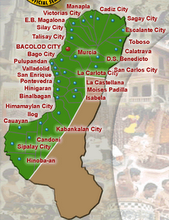 Municipalities of Negros Occidental