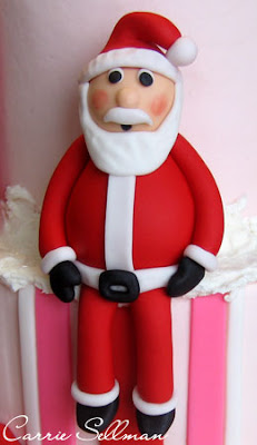 Fondant Santa
