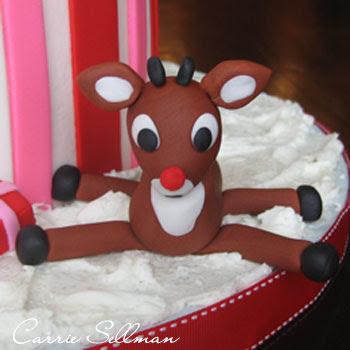 Fondant Rudolf
