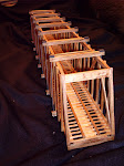 All Wood Model Truss Bridges