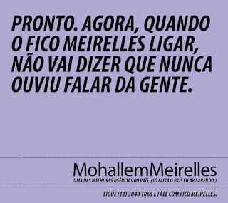 28797 Mohallem Meirelles | Melhor agência do País