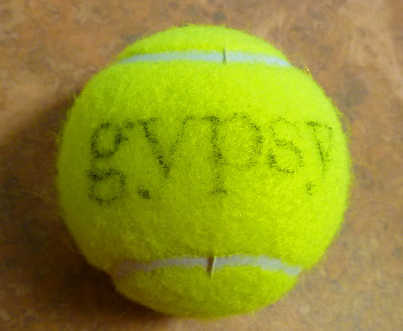 Custom Dog Gift: Personalized Tennis Ball  Why Is There Fuzz On A Tennis Ball