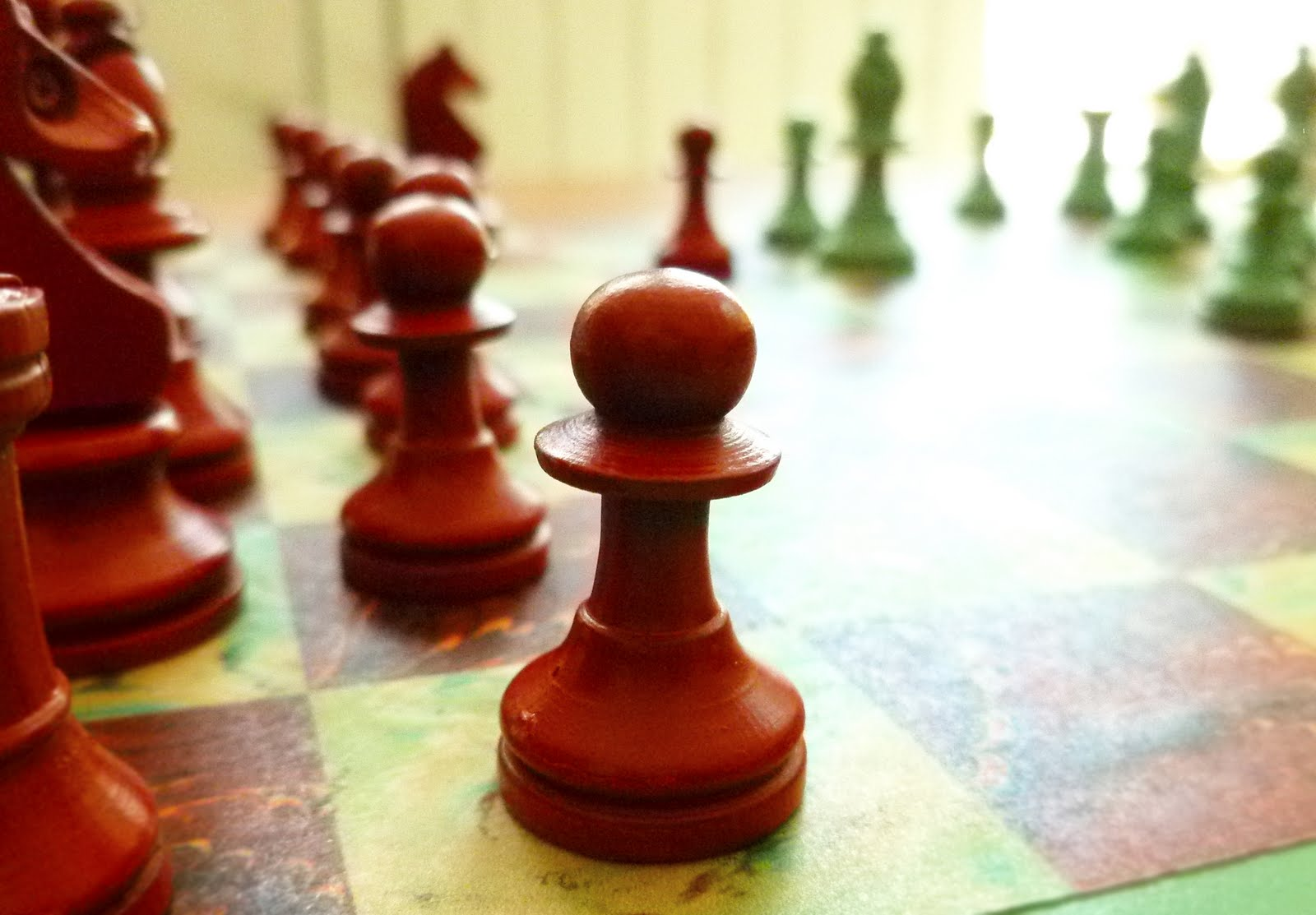 Decorative chess sets cathe holden s inspired barn - Ornamental chess sets ...