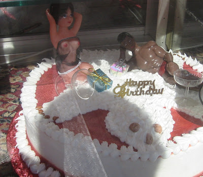 What You See In Sunset Park Bearskin Rug Birthday Cake