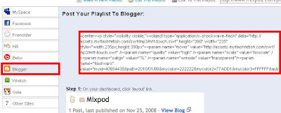 ipod blog blogger