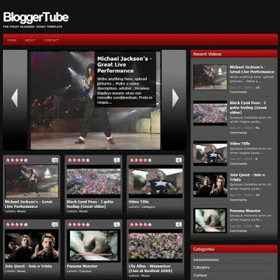 Plantillas blogger video