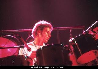 Bill Bruford con King Crimson hace 35 añitos