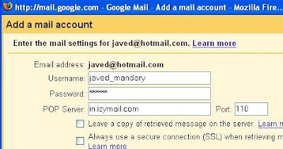 Leer desde Gmail tu cuenta en Hotmail