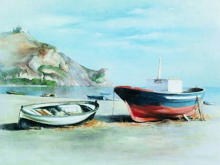 Oliveri libera oliveri e l 39 artista for Disegno paesaggio marino